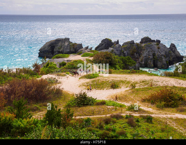 South Shore Park, Jobsons Bay, Warwick Parish, Bermuda - Stock Image