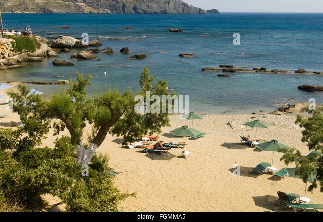 beach plakias crete greek island stock photos beach plakias crete greek island stock images. Black Bedroom Furniture Sets. Home Design Ideas