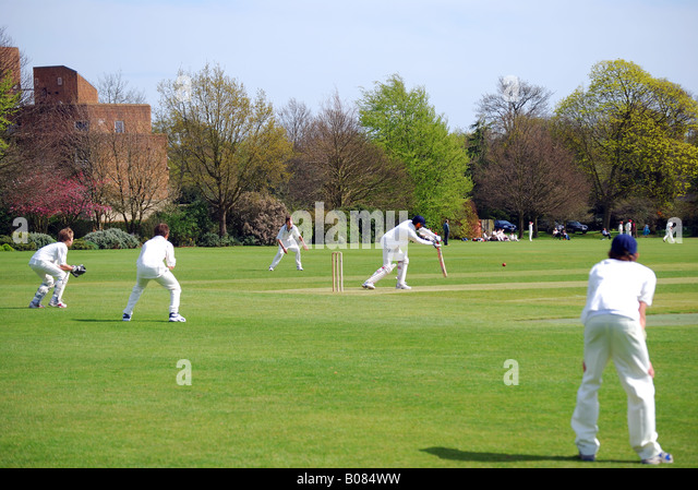 cricket match in my school Cricket: my favorite game: in our school-also due importance is given to the various' games and sports i am also interested in playing volleyball and cricket .