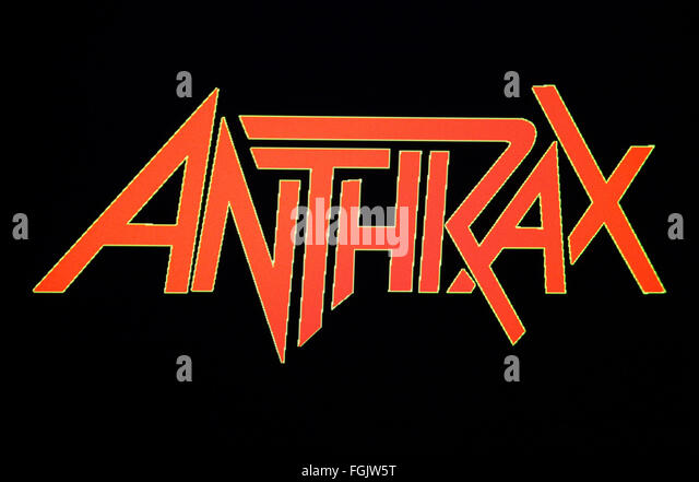 Markenname: 'Anthrax', Berlin. - Stock Image
