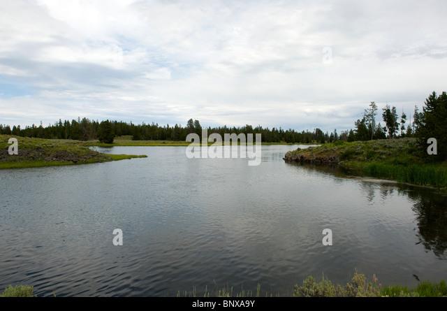 Idaho island stock photos idaho island stock images alamy for Harriman state park fishing