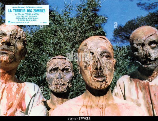 terreur des zombies Zombi Holocaust Année 1980 Italy Réalisateur Marino Girolami - Stock Image