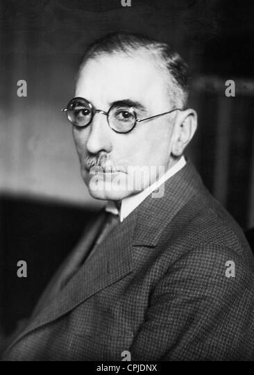 Baron Wilhelm von Gayl, 1932 - Stock Image