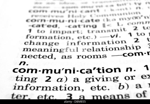 Communication concept - Stock Image