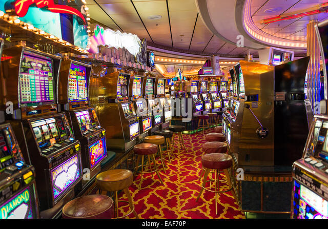 Slot machines on cruises