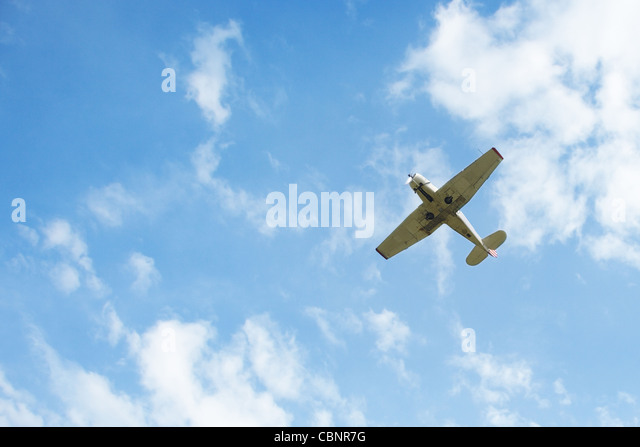 how to fly aeroplane in sky