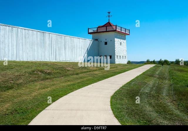 Fort Union, North Dakota, USA - Stock Image