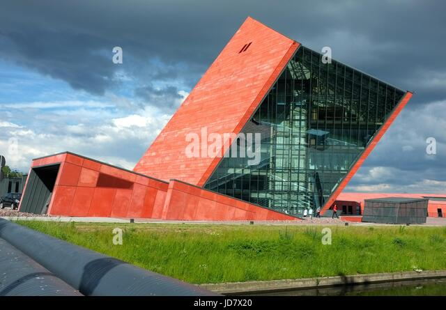 Museum of the Second World War in Gdansk, Poland, central/eastern Europe. June 2017. - Stock Image