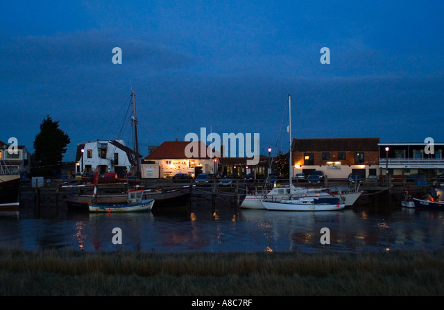 The Harbour Inn  Southwold Suffolk England Europe - Stock Image