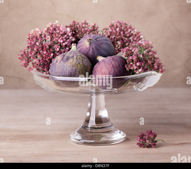 Fresh Figs - Stock Image
