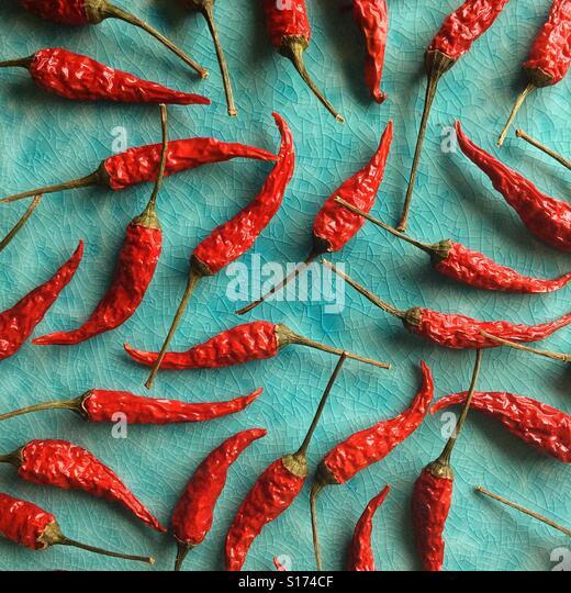Dried Chili - Stock-Bilder