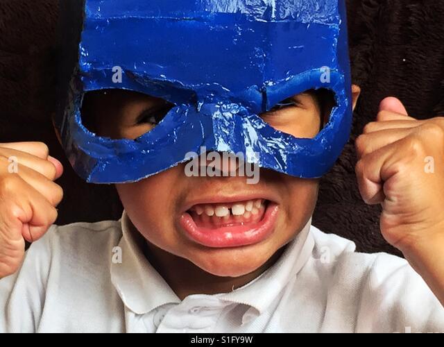 Little superhero. - Stock-Bilder