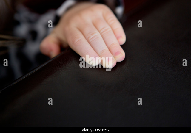 Child's Hand - Stock Image