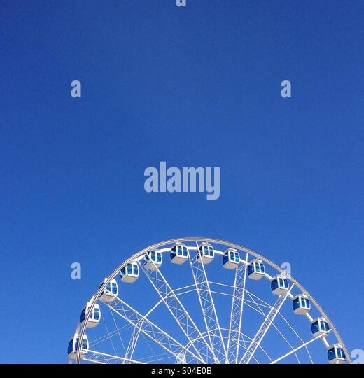 Ferris wheel - Stock Image