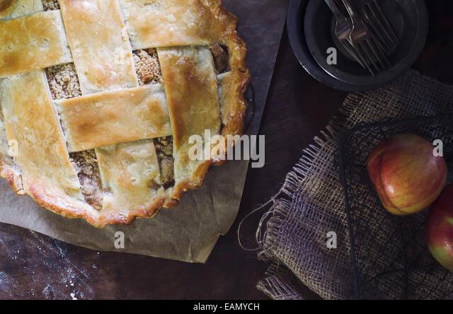 Apple Pie - Stock Image
