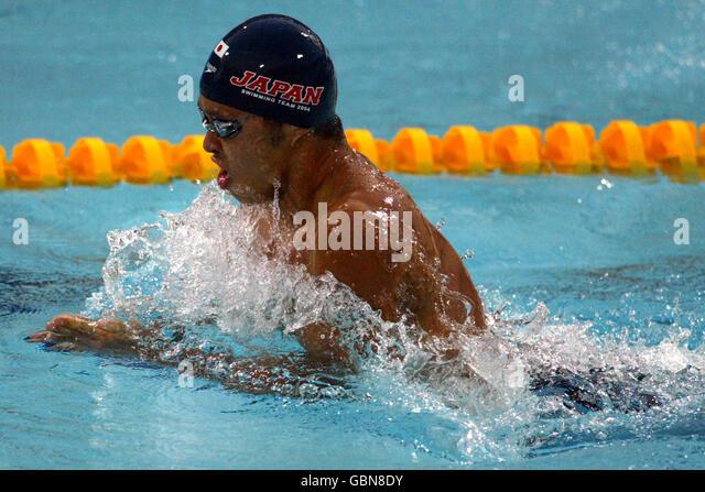 Kosuke kitajima breaststroke stock photos kosuke kitajima breaststroke stock images alamy - Olympic swimming breaststroke ...