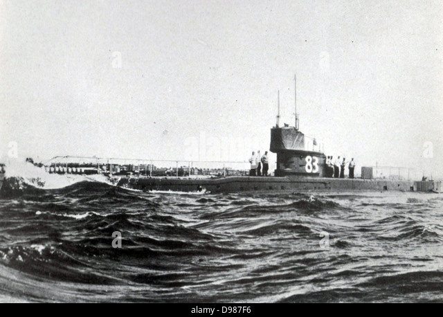 Type of English submarine - Stock Image