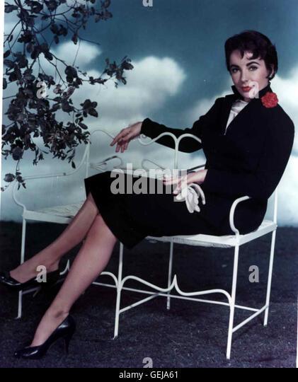 ELIZABETH TAYLOR, 40er Jahre *** Local Caption *** 0, Taylor, Elizabeth, Elizabeth Taylor - Stock-Bilder