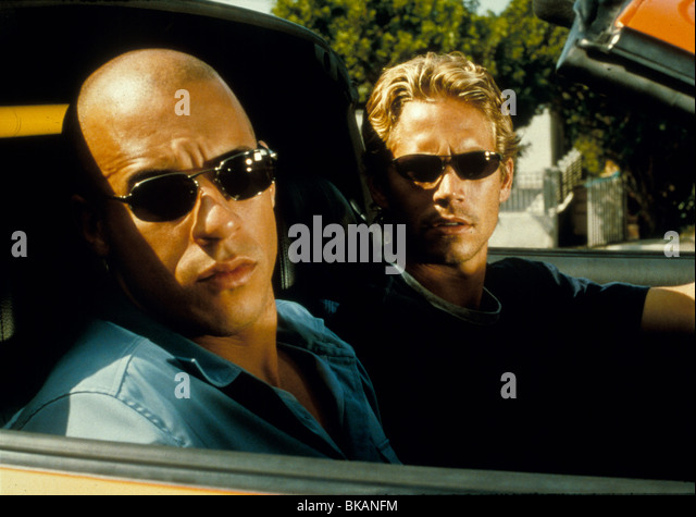 THE FAST AND THE FURIOUS (2001) RACER X, STREET WARS (ALT) VIN DIESEL, PAUL WALKER FATF 002 - Stock Image