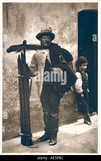 Chimney Sweep Boy 1877 - Stock-Bilder