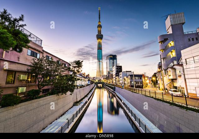 Tokyo, Japan Sumida Ward cityscape. - Stock-Bilder