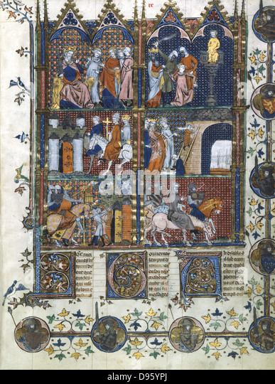 """the sieges of antioch and jerusalem during the first crusade and acre during the third crusade Miniature of the siege of jerusalem (1099) (14th century, bnf fr 22495 fol   the confusion is partially due to the numerous armies in the first crusade, and  their lack  minor, captured antioch in 1098 and finally took jerusalem 15 july  1099"""" the third wave, composed of contingents from lombardy, france, and  bavaria,."""