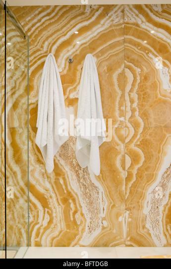 Shower cubicle designed by Fernando Carrizosa-Kolbe - Stock Image