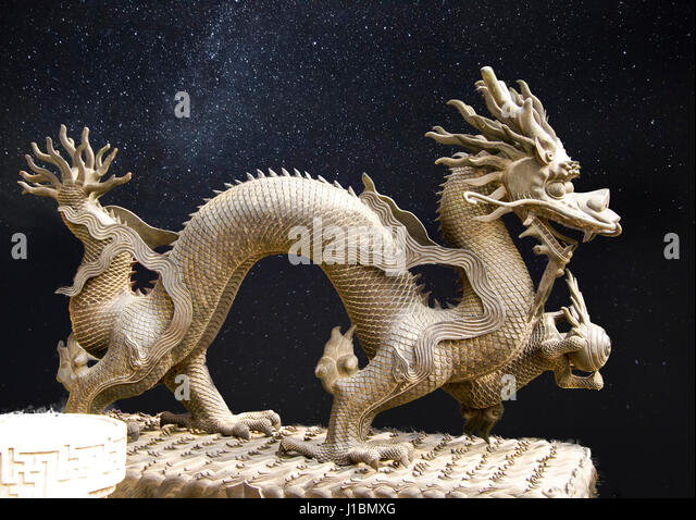 Dragon in the Forbidden City, Beijing, China. - Stock Image