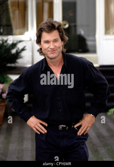 Russell, Kurt, * 17.3.1951, US actor, half length, 1997, - Stock Image