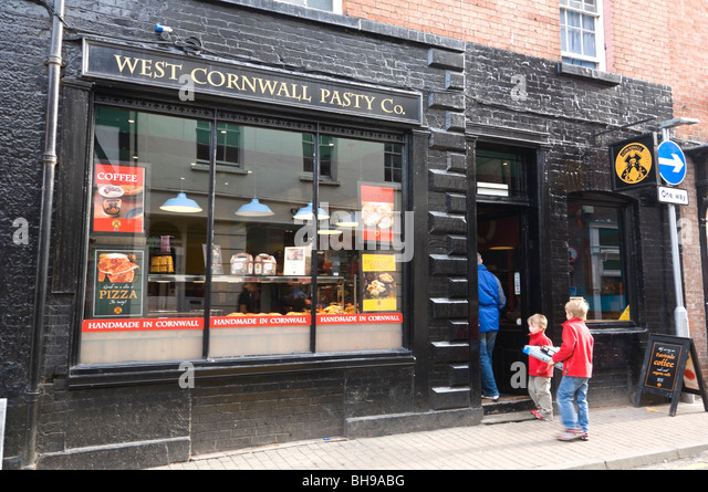 West cornwall pasty shop in stock photos west cornwall for Outlet herford