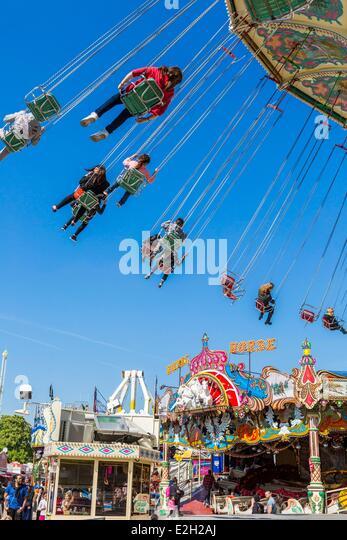 Foire du trone stock photos foire du trone stock images for Amusement parks in paris