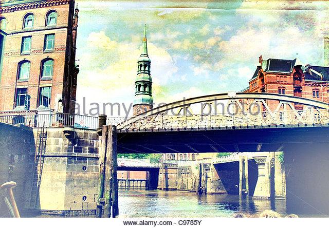 Hamburg speicherstadt 3 - Stock-Bilder