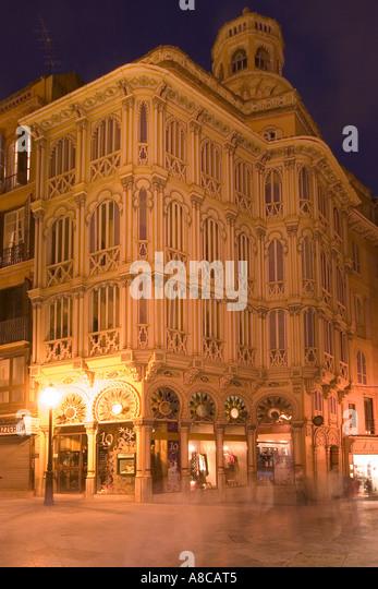 Mallorca Palma de Mallorca historic building in old city center - Stock Image