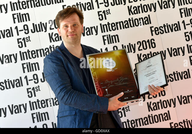 Karlovy Vary, Czech Republic. 09th July, 2016. Germany film Original Bliss directed by Sven Taddicken (pictured) - Stock-Bilder