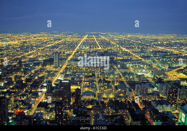 Suburban Chicago, Illinois, USA - Stock Image