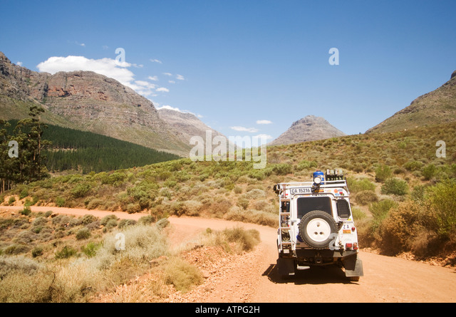The Cederberg Wilderness Area in the Western Cape of South Africa - Stock Image