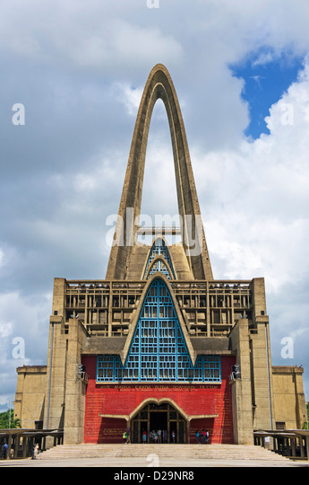Cathedral of Higuey, Higuey, Dominican Republic - Stock-Bilder