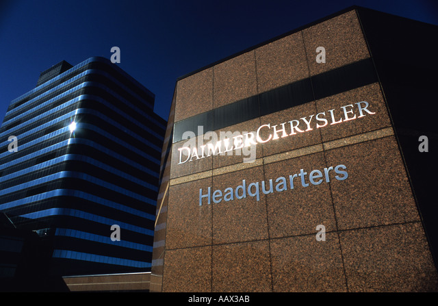 daimler chrysler headquarters stock photos daimler. Black Bedroom Furniture Sets. Home Design Ideas
