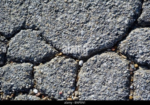 Pavement/Asphalt Cracked - Stock-Bilder