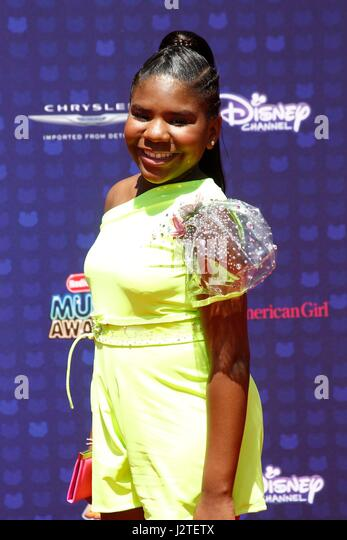 Trinitee Stokes at arrivals for Radio Disney Music Awards - ARRIVALS 2, Microsoft Theater, Los Angeles, CA April - Stock-Bilder