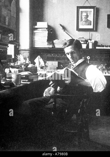 Alexander Fleming 1908 - Stock Image