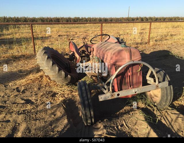 Broken Tractor Ford : N tractor stock photos images alamy