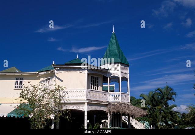Jamaica Harmony Hall art craft gallery Ocho Rios - Stock Image