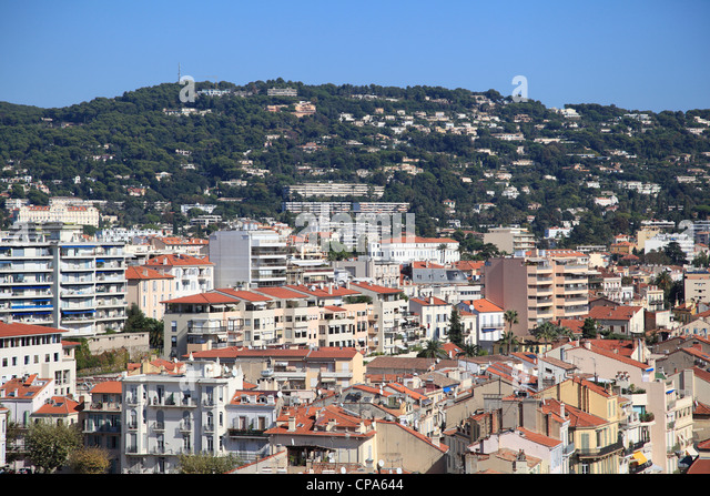 Cannes, Cote d Azur, Alpes Maritimes, Provence, French Riviera, France, Europe - Stock Image