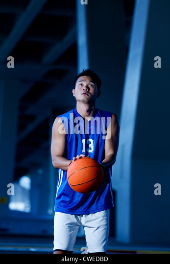 Basketball Player - Stock Image