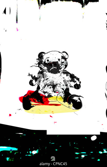 MARTYRED CHILD, ARTWORK - Stock Image
