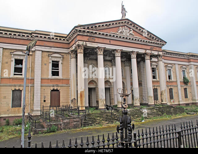 Crumlin Road Courthouse, Belfast, Northern Ireland,UK - Stock Image