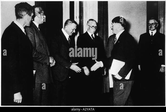 Hitler Businessmen - Stock-Bilder