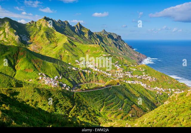 Taganana, Tenerife, Canary Islands, Spain - Stock Image