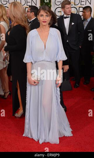 Actress Amanda Peet - Stock-Bilder